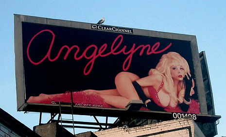 Think Pink: Angelyne, the Billboard Queen of LA sings her totally 80s New Wave non-hit