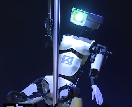Will pole dancing robots put human strippers out of work?