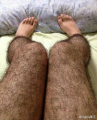 Anti-Pervert Hairy Stockings for Girls in Summertime
