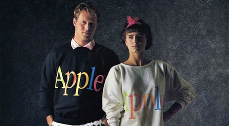Behold Apple's hilariously AWFUL fashion line of 1986