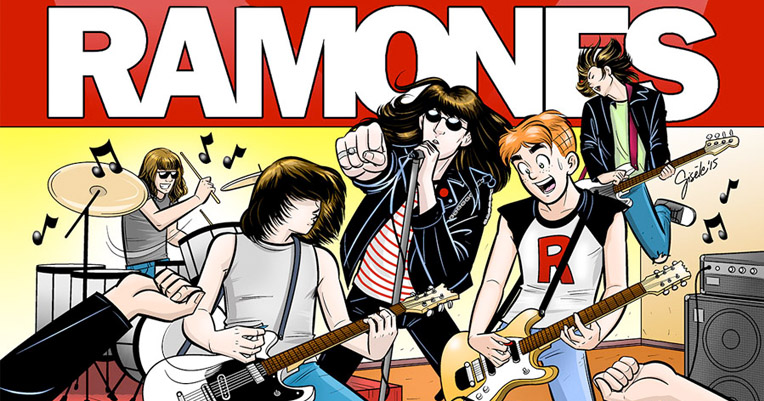 An Archies/Ramones comic book is an actual thing that is going to happen