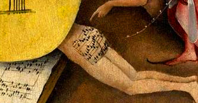 A little ass music: Hieronymus Bosch's 500-year-old butt song from hell