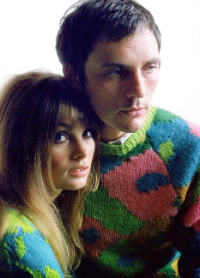 O, You Pretty Things: Terence Stamp and Jean Shrimpton model knitwear, 1967