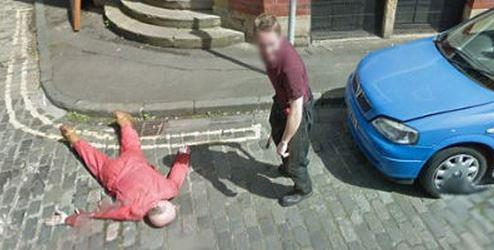 'Axe murder' on Google Street View solved