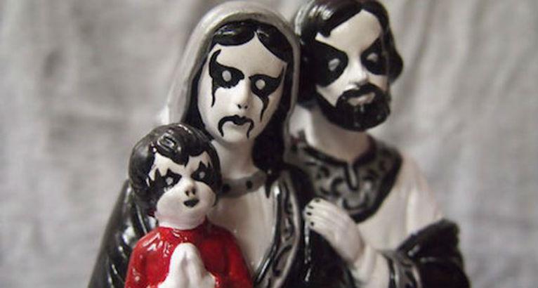 Grandma's ceramic figurines get a grim makeover