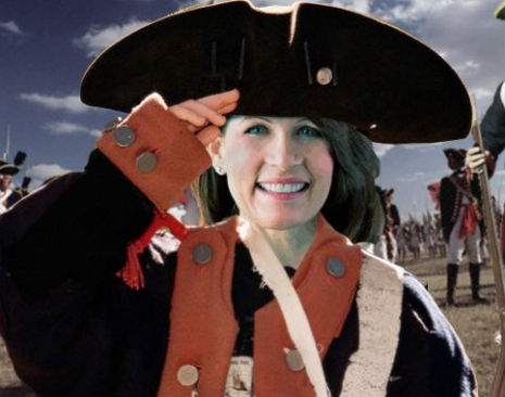 America's top spies look at Michele Bachmann like she's crazy (for a LONG time)
