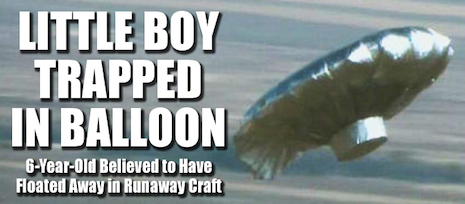 Balloon Boy Hoax headline