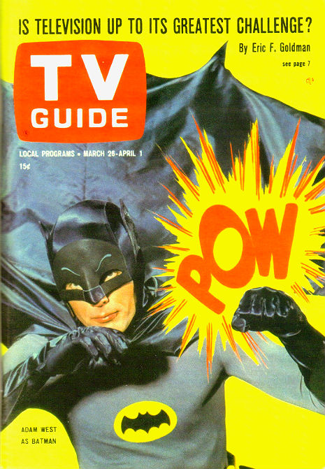 Singing Batman is minding his business, 1966