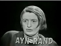 A few words about love, from everyone's favorite hopeless romantic, Ayn Rand