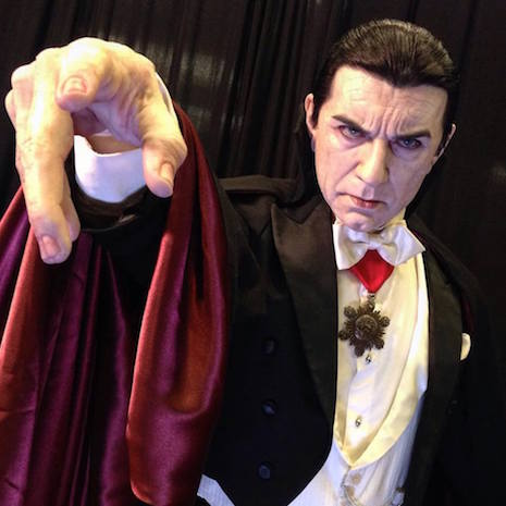 Bela Lugosi life-sized sculpture by Mike Hill