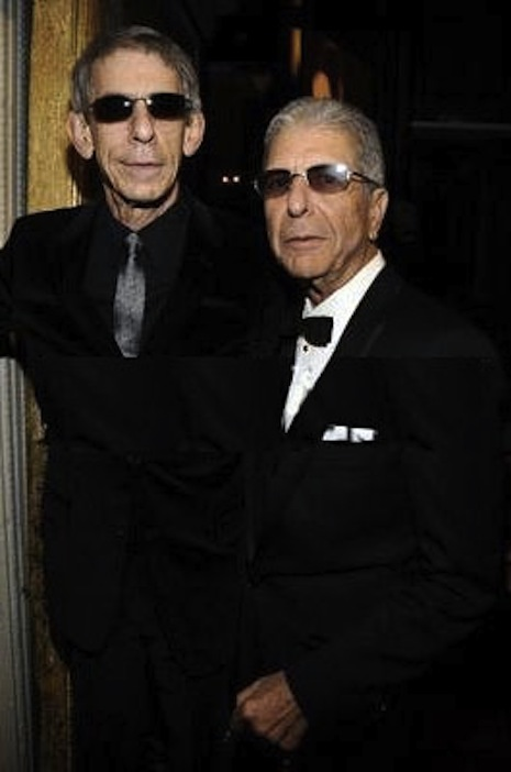 Richard Belzer and Leonard Cohen