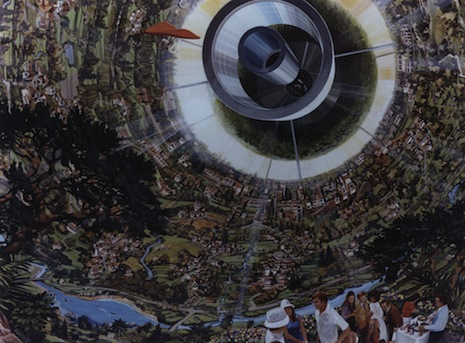 The 1970s dream of space colonies with ten thousand people