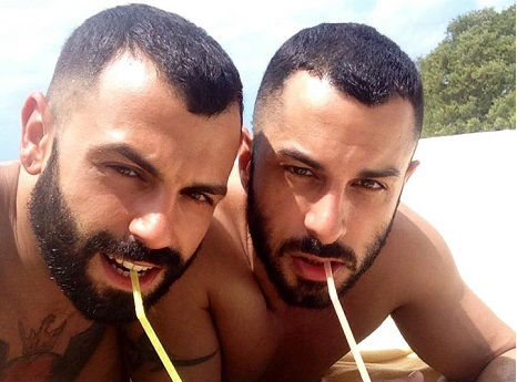 Boyfriend twin: 'Because what's sexier than dating yourself?'