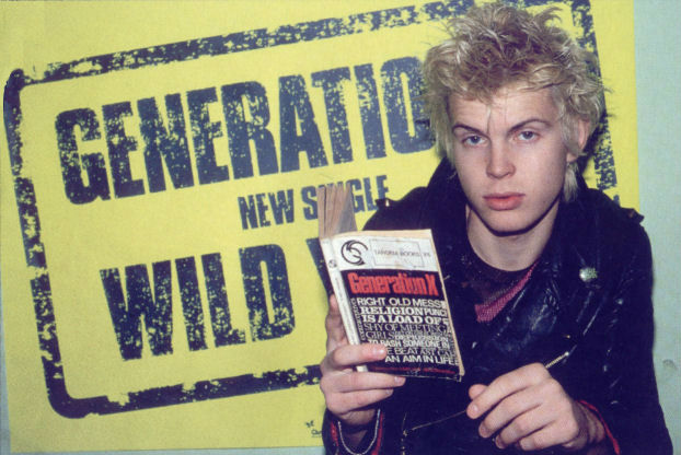 Billy Idol says punk 'didn't make a dent in the political system'