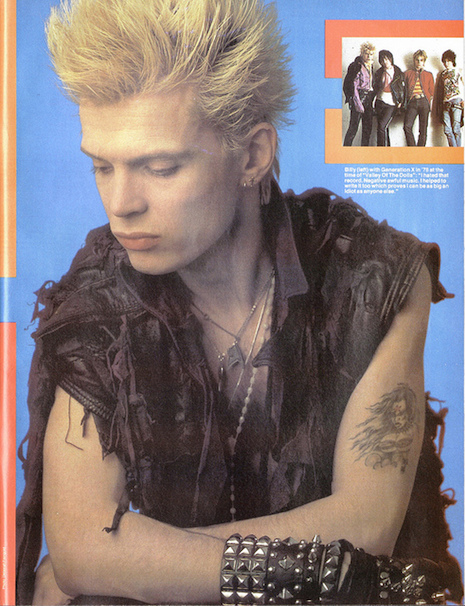 Billy Idol Smash Hits July 19, 1984