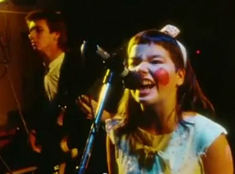 See a young Björk rocking out in 'Rokk í Reykjavík'