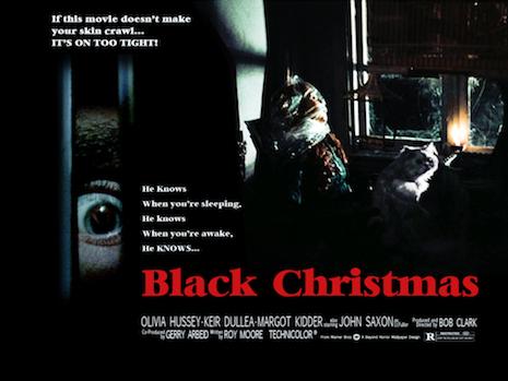 Black Christmas lobby card