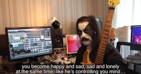 Black Metal Corpsepaint comedy isn't funny