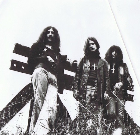 Black Sabbath looking kind of evil, 1970