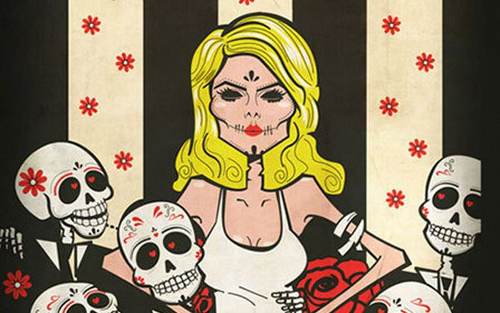 Sugar skulls of the dead: Dia de los Muertos portraits of Blondie, the Ramones, Lemmy and more