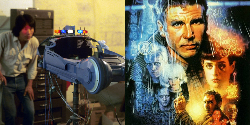 A treasure-trove of behind-the-scenes 'Blade Runner' model-shop production photos