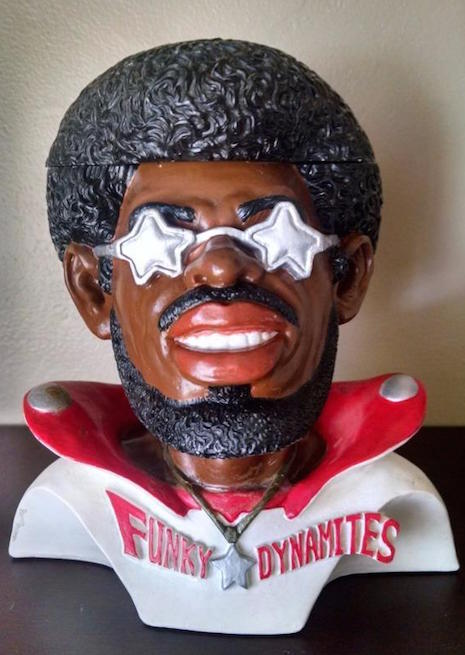 Vintage 1970s Bootsy Collins ashtray