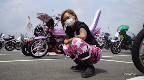 Bosozuku biker girl