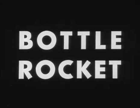 Wes Anderson's first film, the original B&W 'Bottle Rocket' short from 1992
