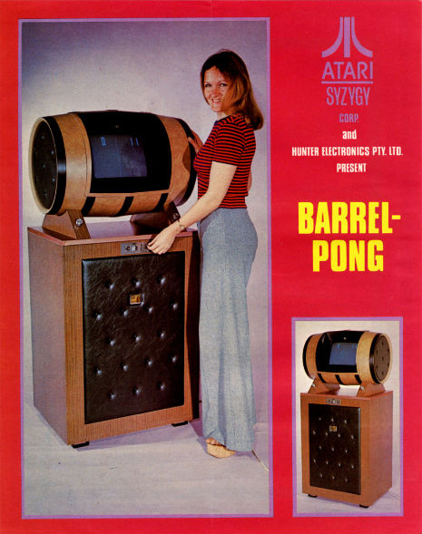 What you never asked for: The Barrel-Pong, 1972