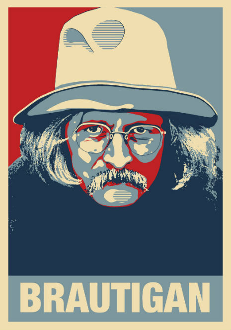 Richard Brautigan reading from 'Trout Fishing in America' and 'In Watermelon Sugar'