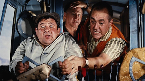 Buddy Hackett, Jim Backus and Mickey Rooney from It's a Mad, Mad, Mad, Mad World (1963)