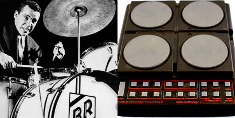 Buddy Rich for Synsonics drums