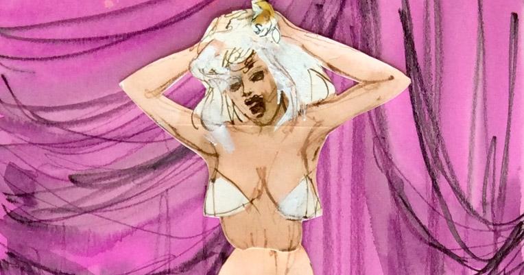 The amazing, unpublishable burlesque pop-up book