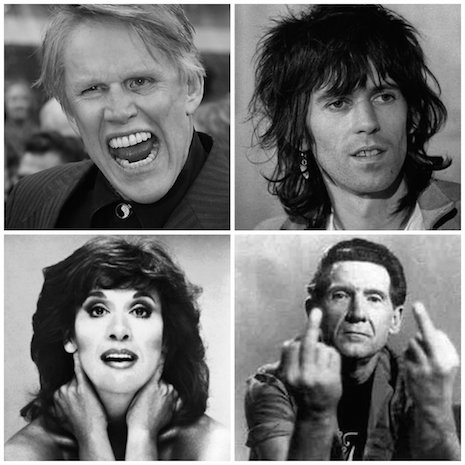Gary Busey, Keith Richards, Ruth Buzzi and Jerry Lee Lewis
