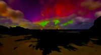 All the Colors of the Night: Beautiful Aurora Display, Caithness, Scotland