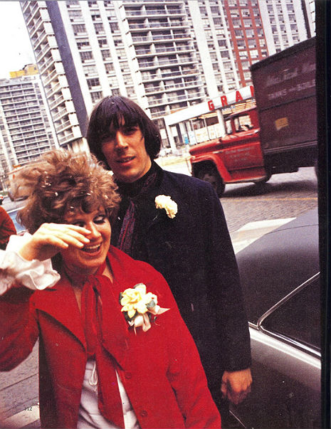 The Brief Marriage of John Cale and Betsey Johnson