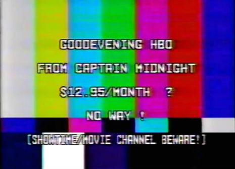 'Captain Midnight' hacks HBO