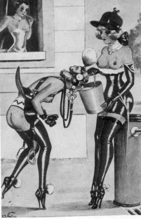 Fetish illustration by Carlo