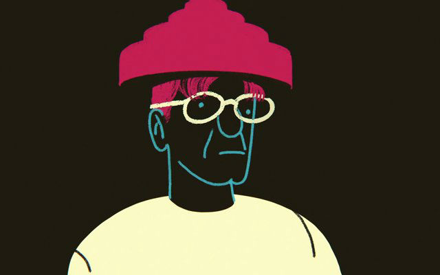 DEVO's Mark Mothersbaugh talks of being legally blind & getting glasses, set to beautiful animation