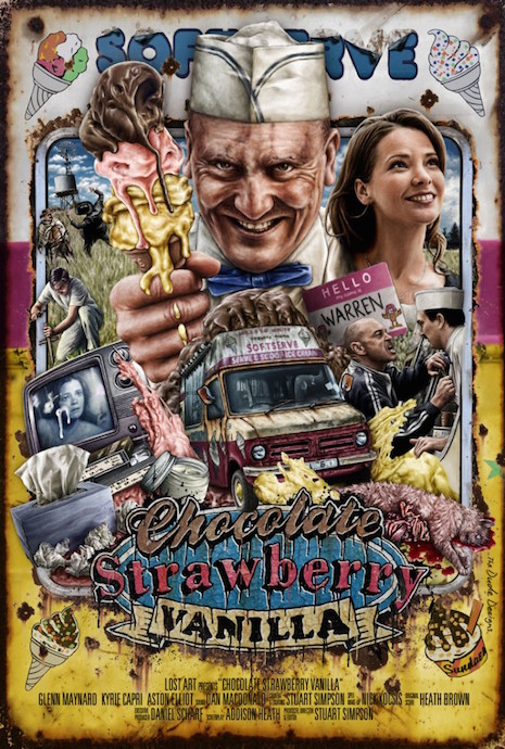 Chocolate, Strawberry, Vanilla (Australia) film poster, 2013