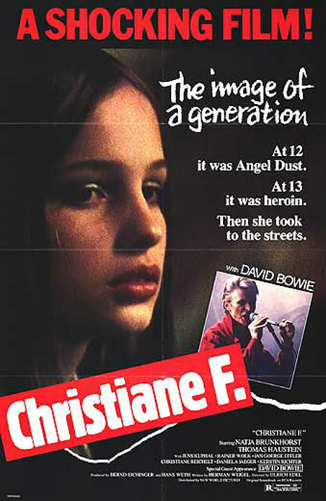 Heroin chic: Christiane F., teenage junkie, prostitute, style icon