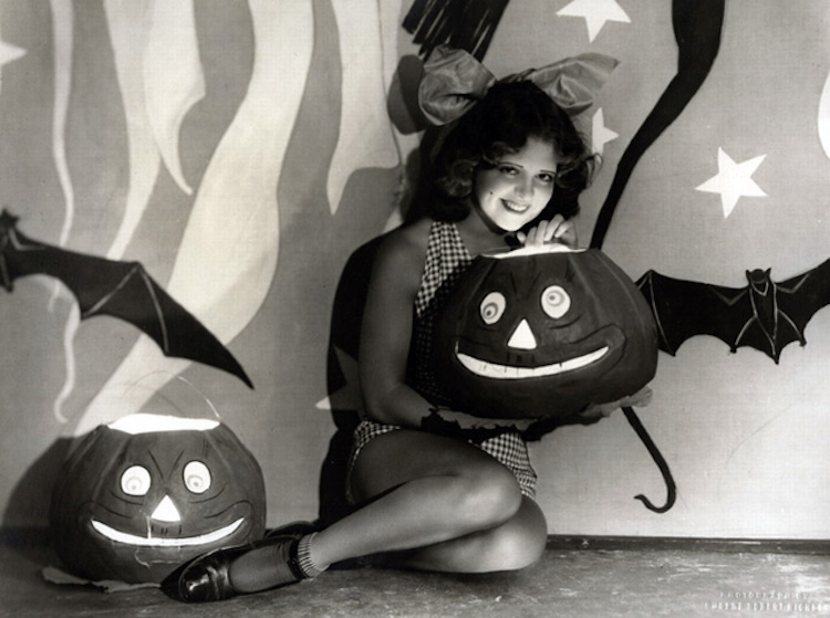 Witchy women and leggy ladies: Halloween in Hollywood