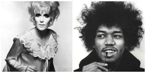 When Jimi Hendrix met Dusty Springfield, 1968