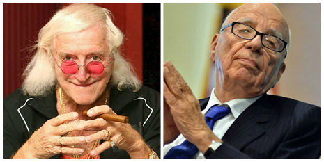 Rupert Murdoch and Jimmy Savile: Civil War at the Heart of the British Establishment?