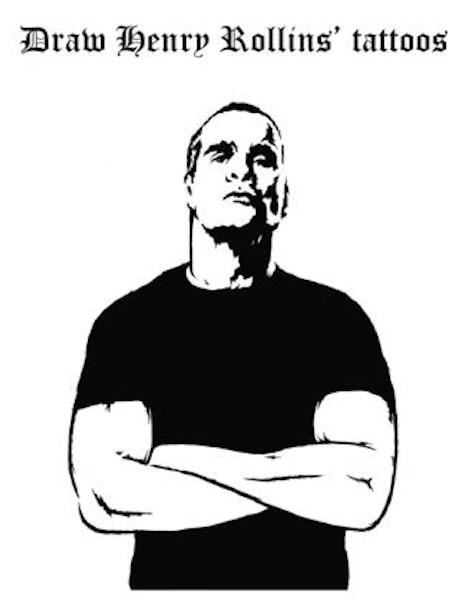 Give Henry Rollins his tattoos back