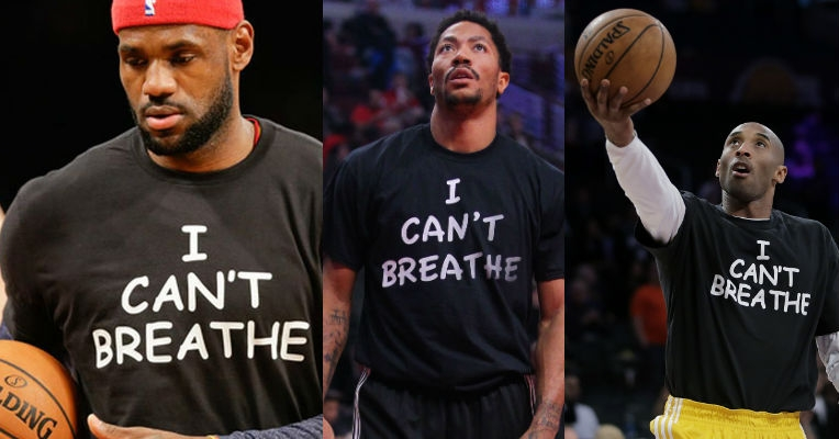 Idiotic hipsters complain about the font of 'I Can't Breathe' protest shirts