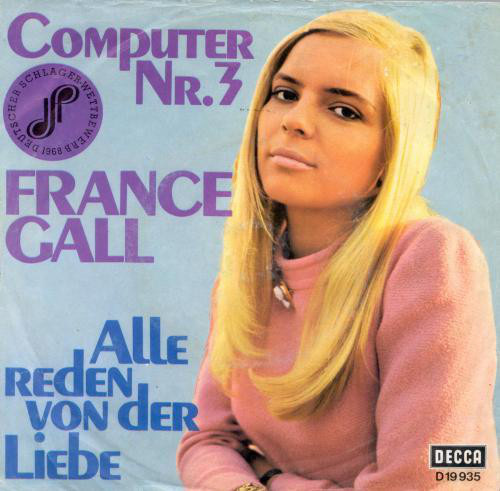 Der Computer Nr.3 45 on Decca Records