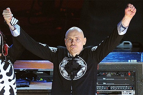 Billy Corgan of The Smashing Pumpkins wants to sell you furniture