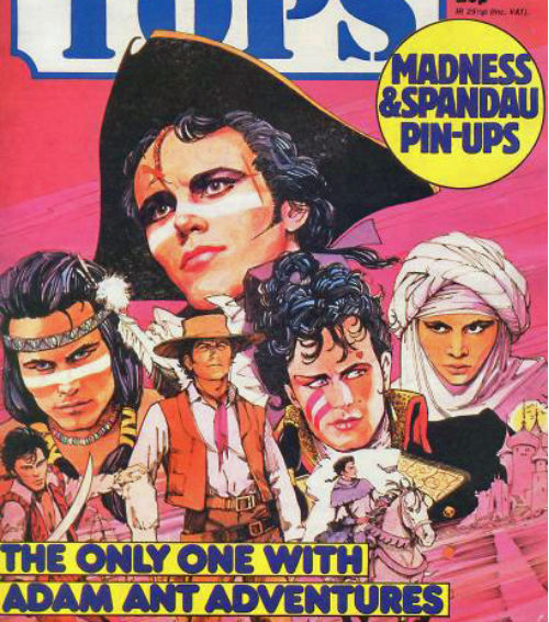 The Fantastic Comic Book Adventures of Adam Ant, 1982
