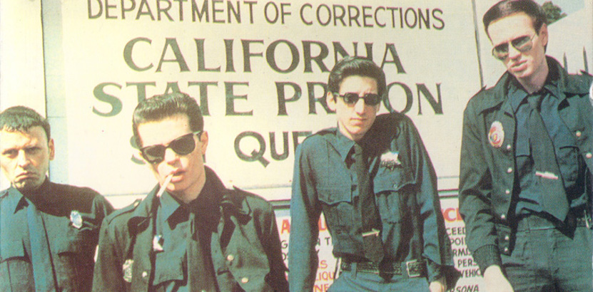 Murder By Guitar: San Francisco punk band Crime live at San Quentin prison, 1978